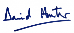 David Hunter Signature