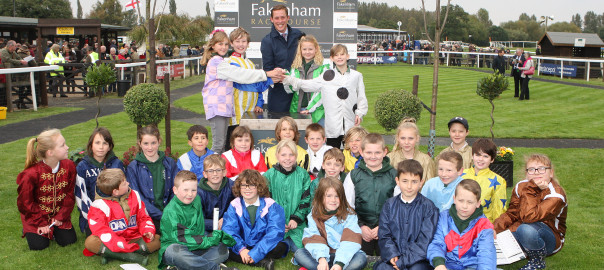 Hockham Primary School at Fakenham Races