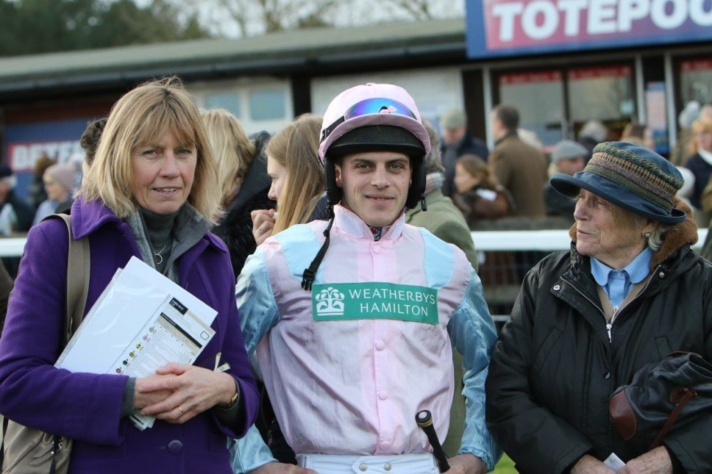 Maxime Tissier after Winning New Years Day chase at Fakenam