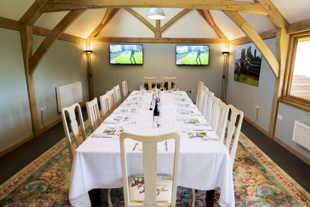 The Pavilion. Venue Hire at Fakenham Racecourse. Photot: Leaderboard Photography