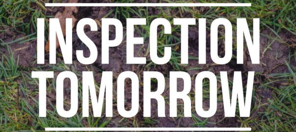 Inspection Tomorrow at Fakenham Racecourse