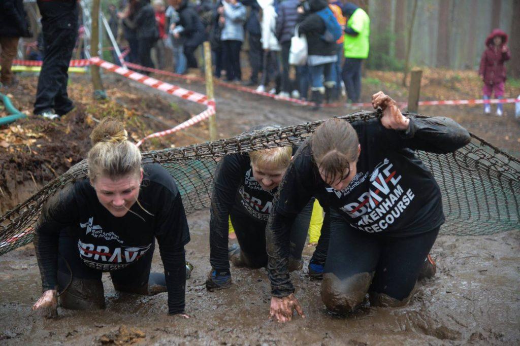 Only The Brave Charity Run Norfolk. Fakenham Racecourse Team