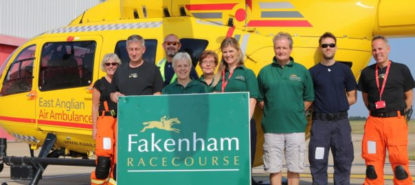 Fakenham Racecourse and East Anglian Air ambulance Raceday Norfolk News