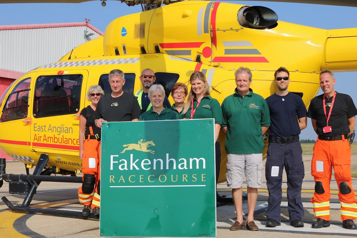 Fakenham Racecourse and East Anglian Air ambulance Raceday Norfolk News
