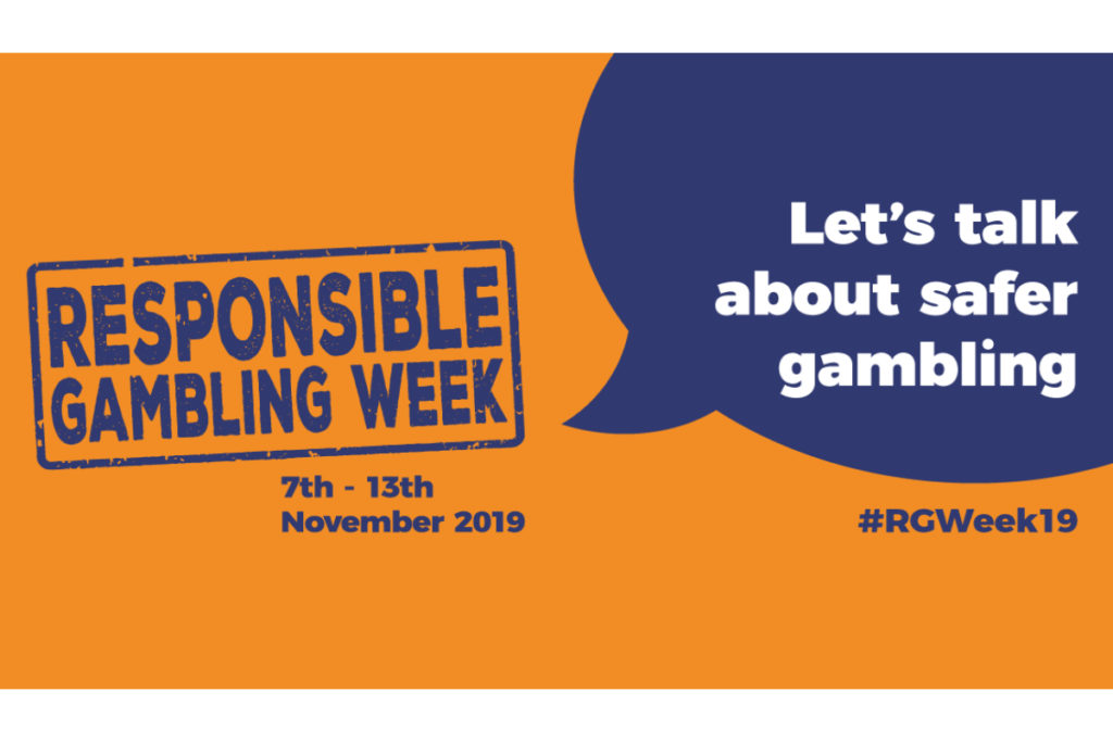 Responsible gambling week #RGWeek19