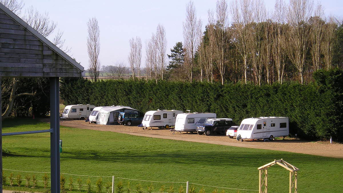 CARAVAN & CAMPING SITE IS NOW OPEN